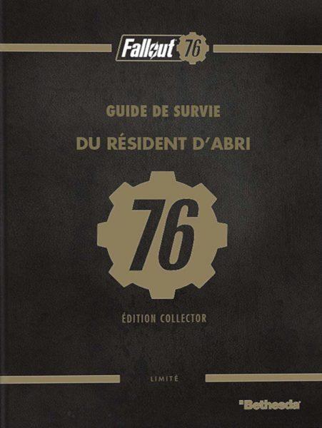 Guide de survie du résident d'abri 76 édition collector