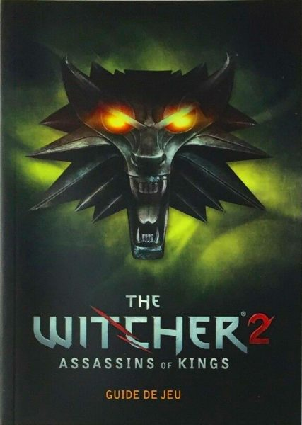 guide officiel the witcher 2 (pc)