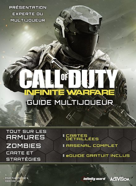 guide officiel call of duty infinite warfare