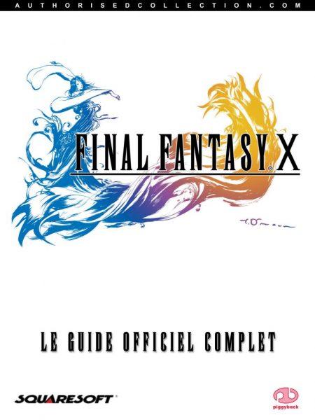 guide officiel - Final Fantasy 10
