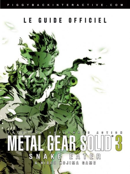 guide officiel Metal Gear Solid 3 - Snake Eater