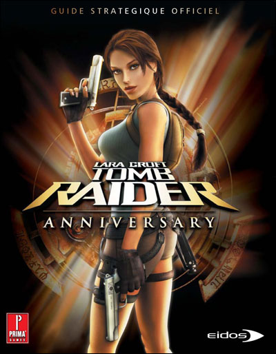 guide officiel Tomb Raider Anniversary