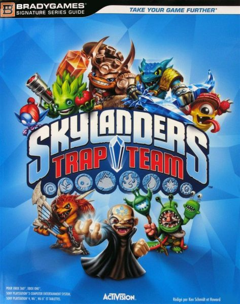 Guide officiel Skylanders Trap Team
