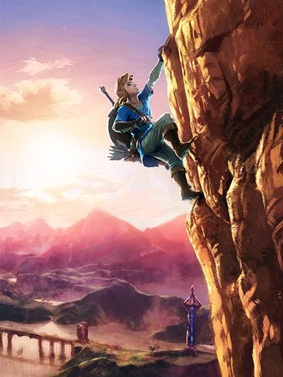 guide officiel zelda breath of the wild collector