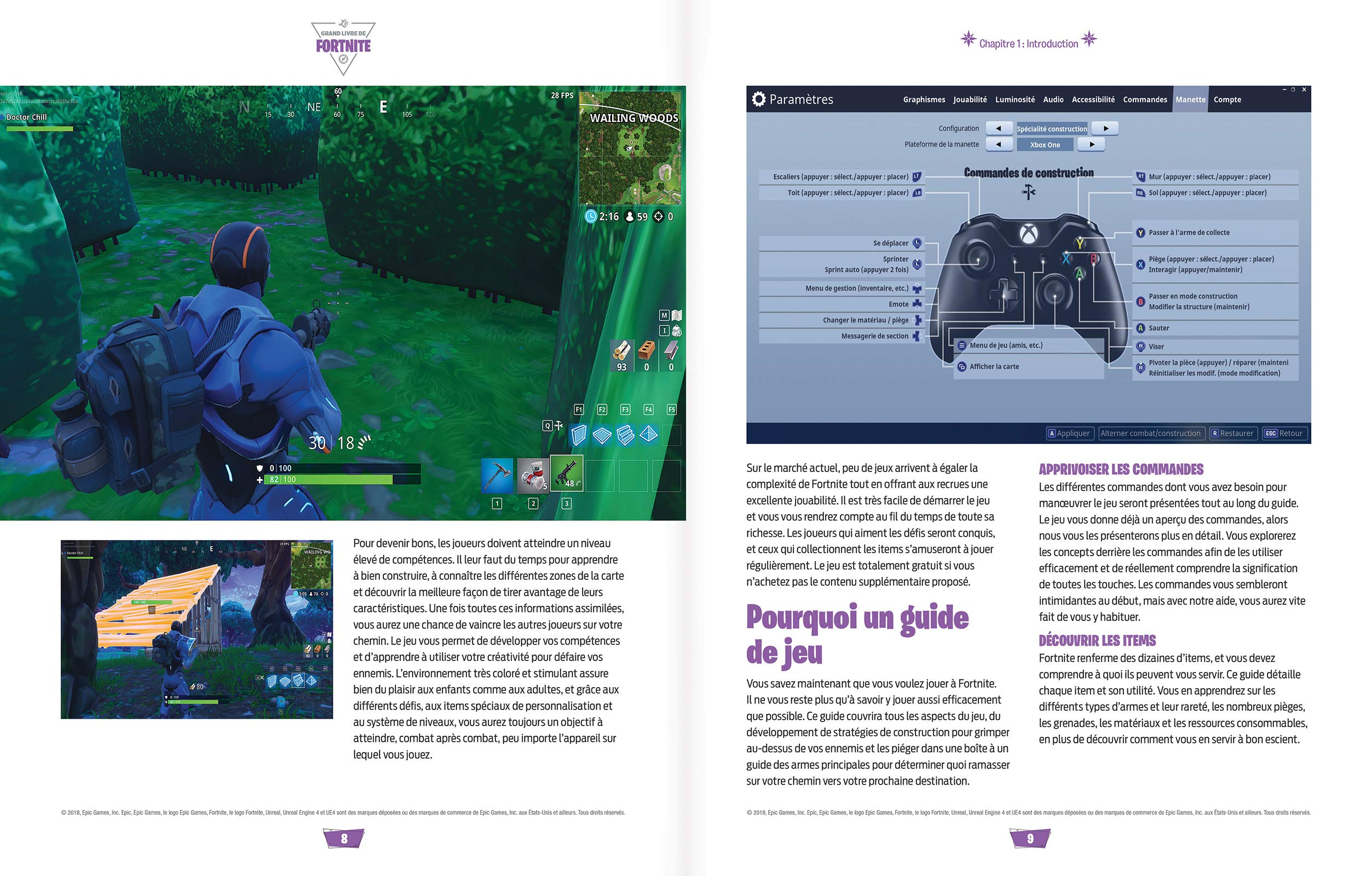 Le grand livre de Fortnite