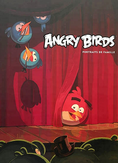 Angry Birds - Portraits de famille
