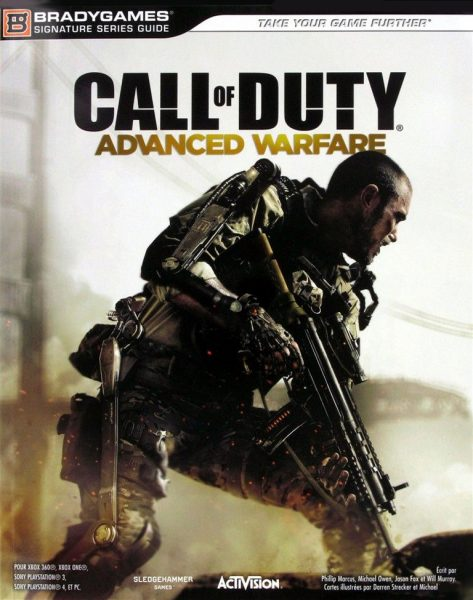 guide officiel call of duty advanced warfare