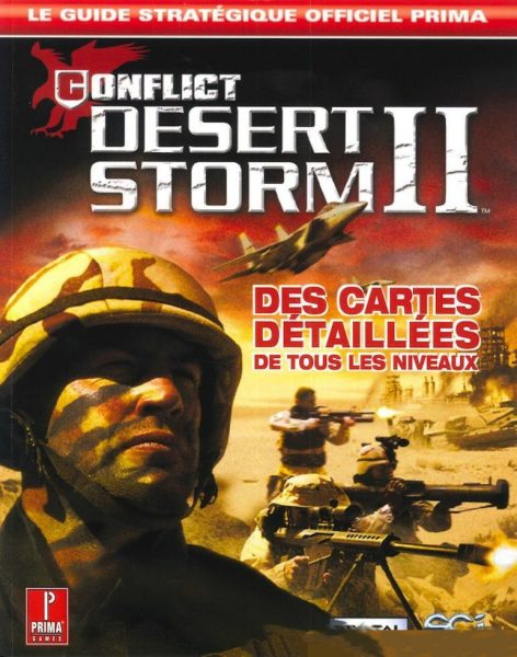 guide officiel - conflict desert storm 2