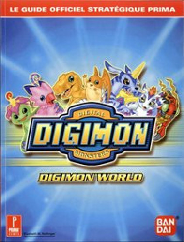guide officiel - digimon world