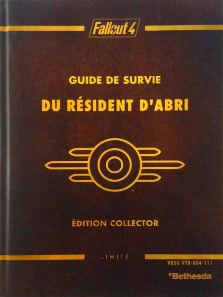 guide officiel fallout 4 édition collector