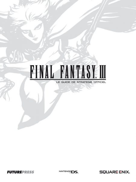 guide officiel - final fantasy 3