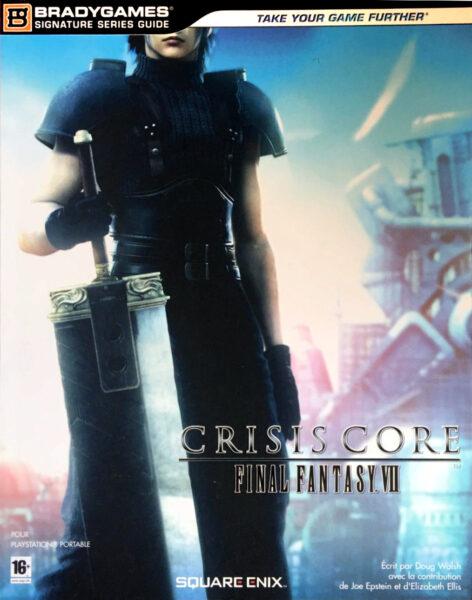 guide officiel final fantasy 7 crisis core