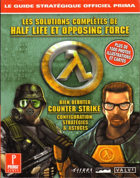 guide officiel - Half Life - Opposing Force
