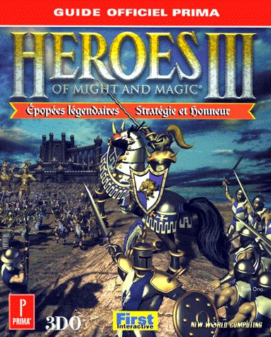 guide officiel - Heroes of Might and Magic 3
