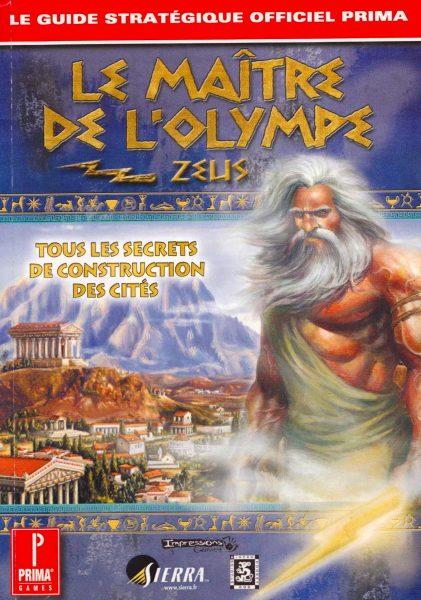 guide officiel - Le Maître de Olympe - Zeus
