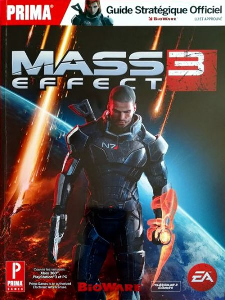 guide officiel Mass Effect 3