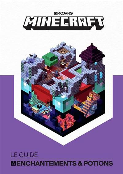 guide officiel Minecraft - Enchantements Potions