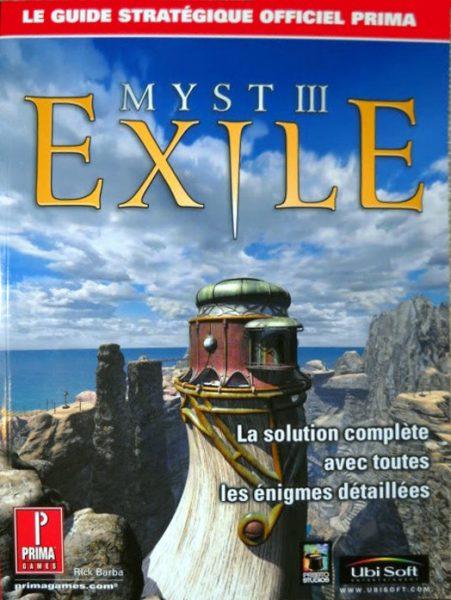 guide officiel Myst 3 - Exile