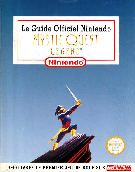 guide officiel Mystic Quest Legend