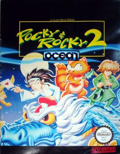 guide officiel Pocky & Rocky 2
