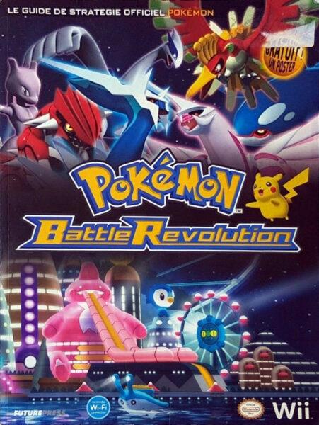 guide officiel Pokémon Battle Révolution
