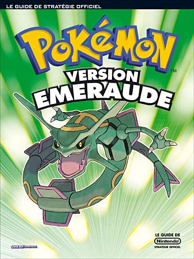 guide officiel pokémon emeraude