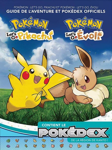 guide officiel Pokemon : Let's Go Pikachu Let's Go Evoli