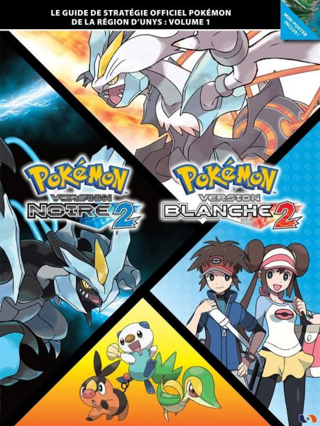 guide officiel pokémon noir 2 blanc 2