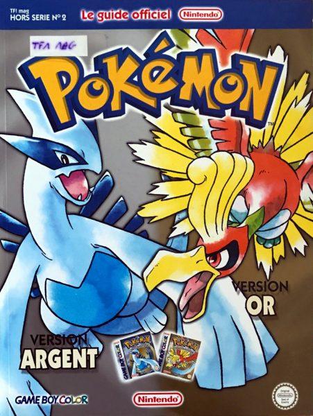guide officiel Pokémon or argent