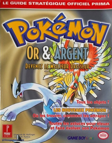 guide officiel Pokémon