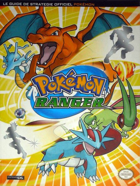 guide officiel Pokémon Ranger