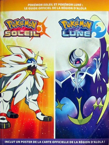 guide officiel Pokémon Soleil Lune