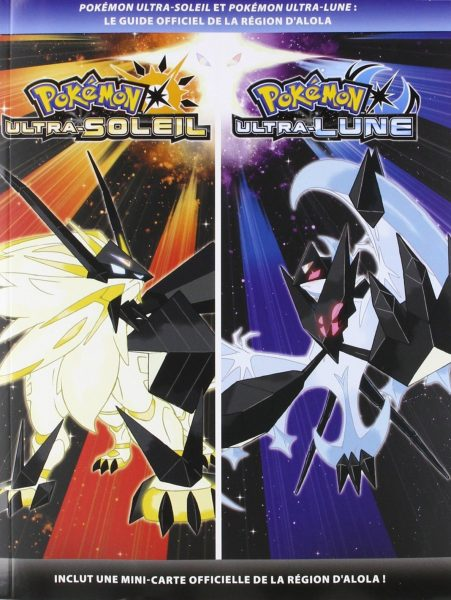 guide officiel Pokémon Ultra Soleil Ultra Lune