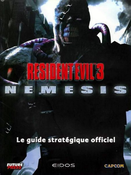 guide officiel Resident Evil 3 - Nemesis