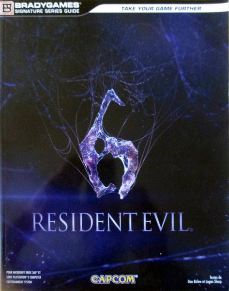 guide officiel Resident Evil 6