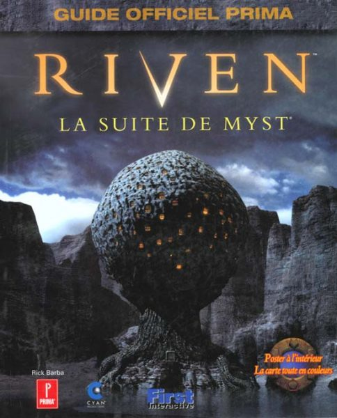 guide officiel Riven - La suite de Myst