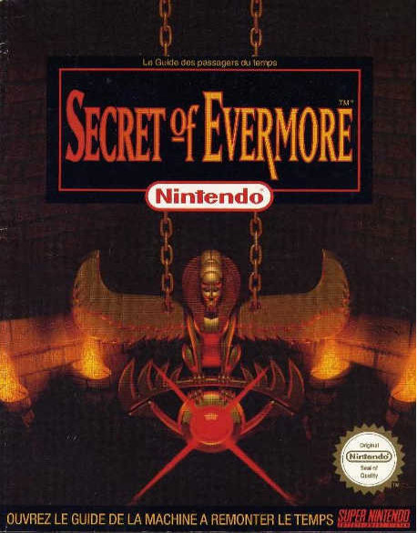 guide officiel Secret of Evermore