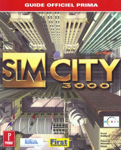 guide officiel Sim City 3000