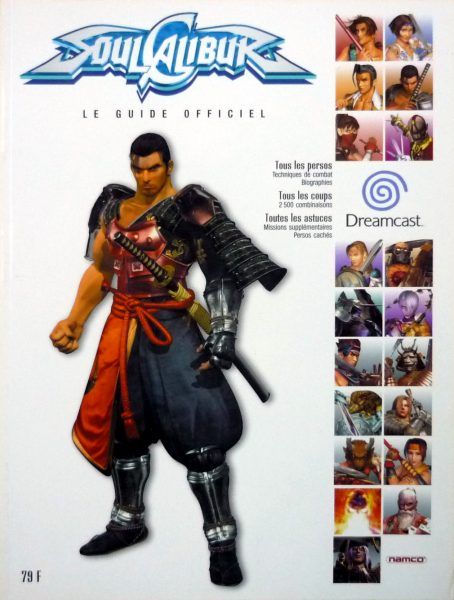 guide officiel Soulcalibur