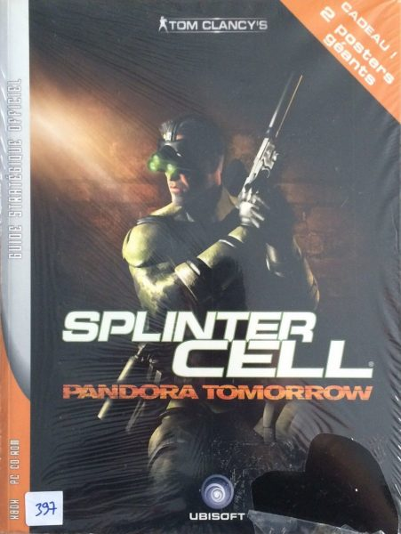 guide officiel Splinter Cell Pandora Tomorrow