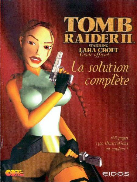 guide officiel Tomb Raider 2 - Starring Lara Croft