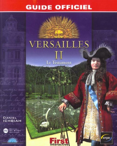 guide officiel versailles 2 le testament
