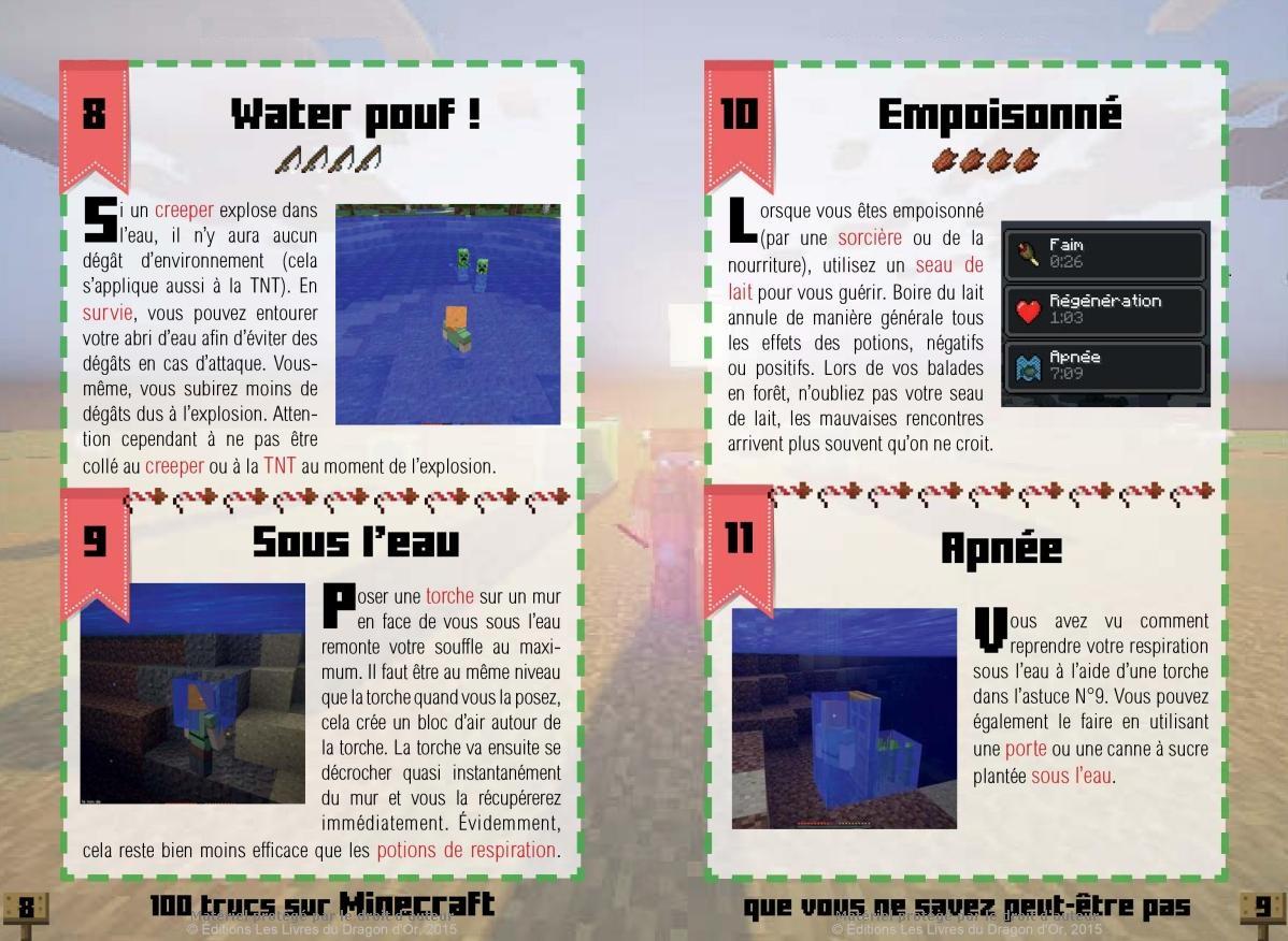 Minecraft 100 trucs que vous ne savez peut-être pas
