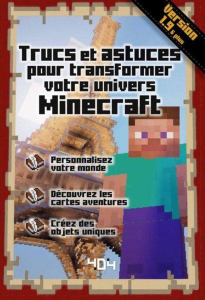Minecraft personnalisez votre univers