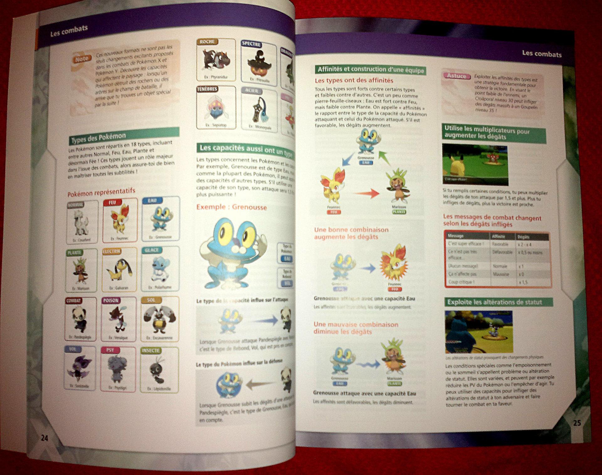 guide officiel pokémon x y