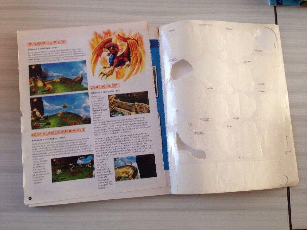 guide officiel Skylanders Giants