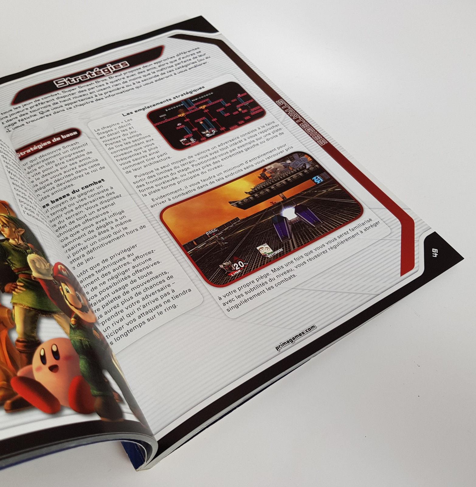 guide officiel Super Smash Bros. Brawl