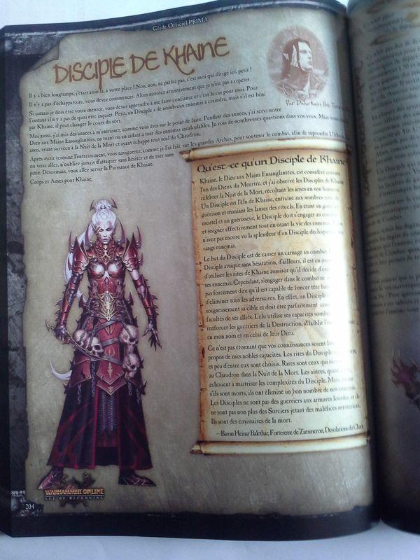 guide officiel Warhammer online : Age of reckoning